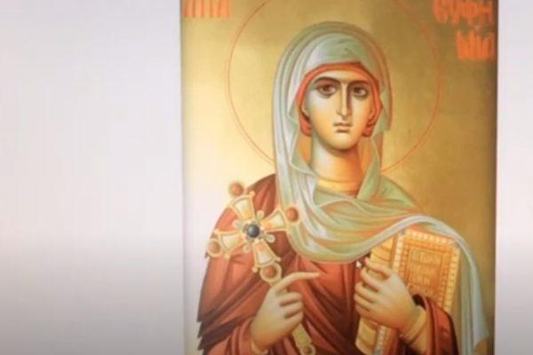 Don Fabrizio Gallo - Relazione su Santa Eufemia di Calcedonia Vergine e Marire