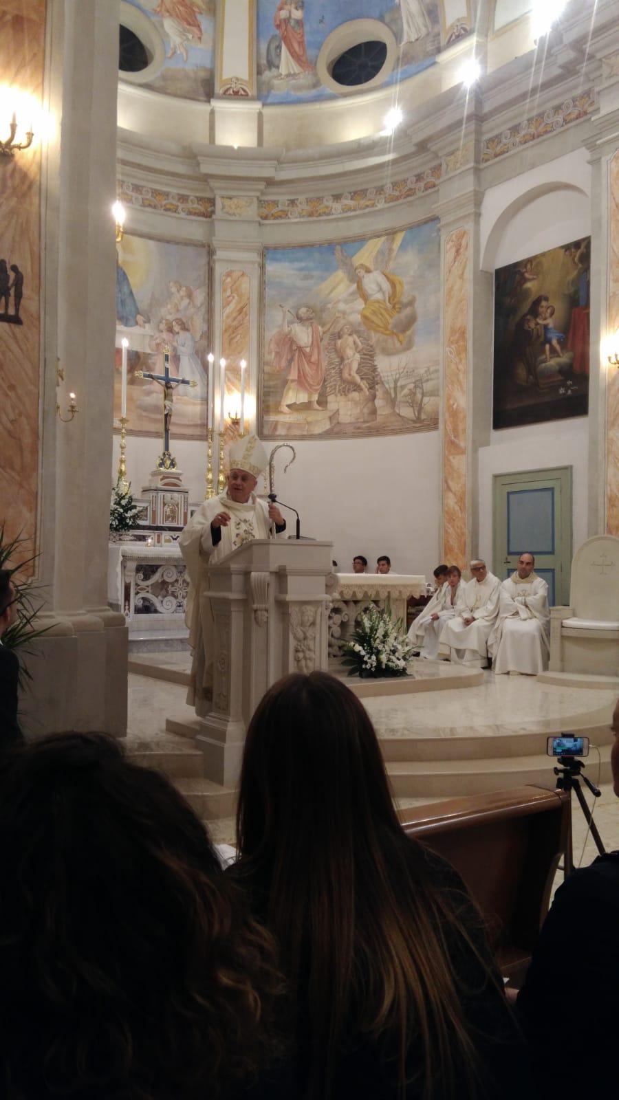 Visita pastorale a Caprarica (1)