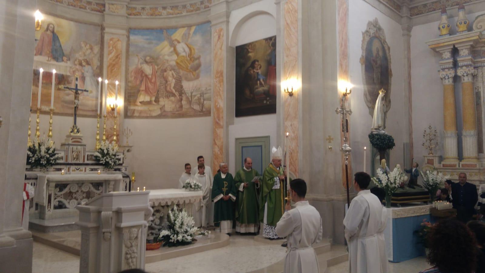 Visita pastorale a Caprarica (2)